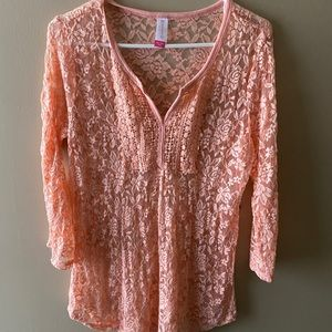 No boundaries lace blouse